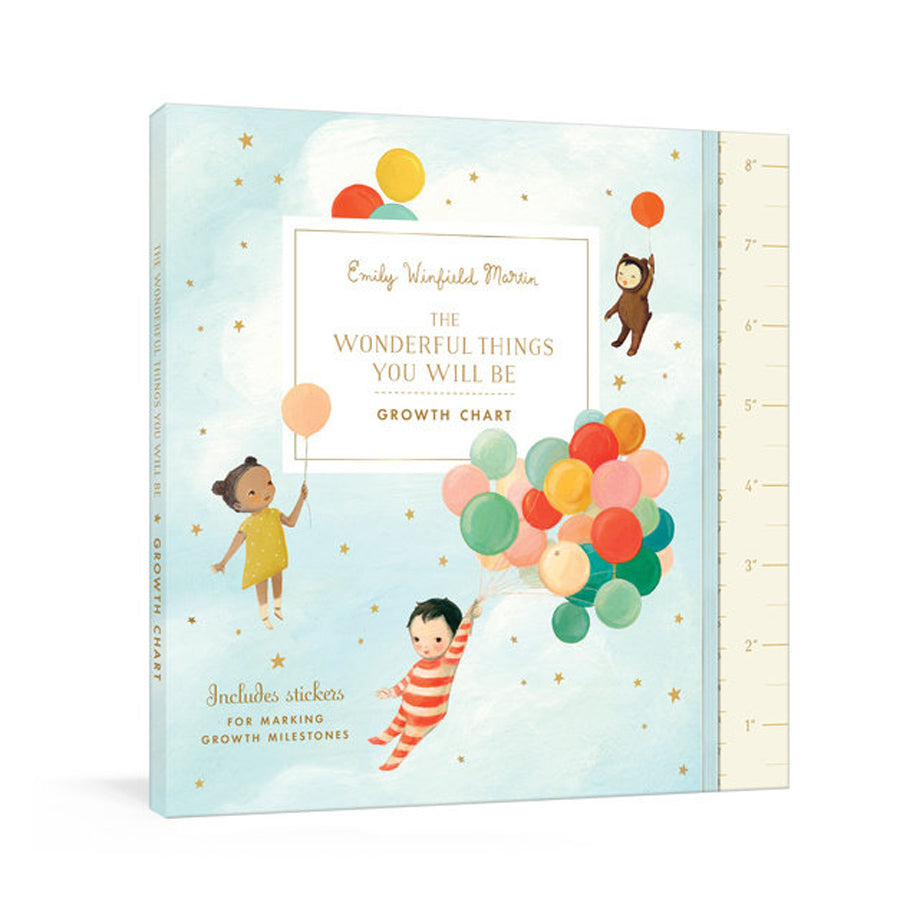 The Wonderful Things You Will Be Growth Chart-Penquin Random House-Joanna's Cuties