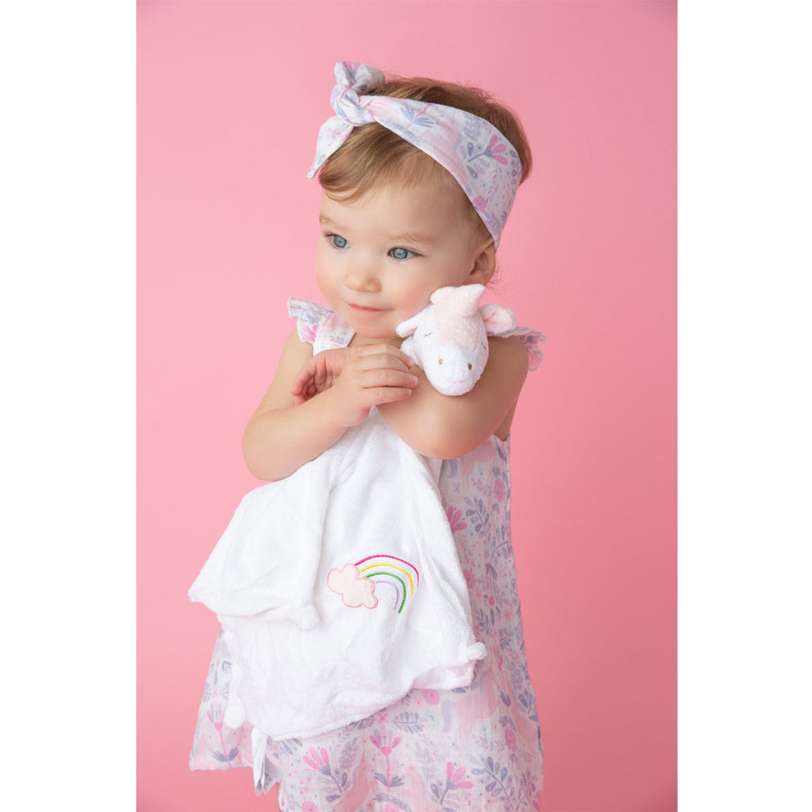White Unicorn Blankie - Angel Dear - joannas-cuties