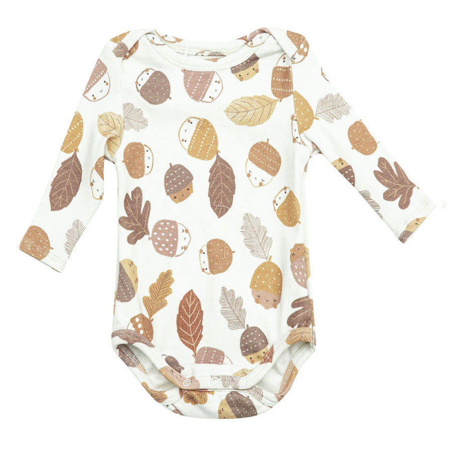 Lap Shoulder Onsie - Acorns-Angel Dear-Joanna's Cuties
