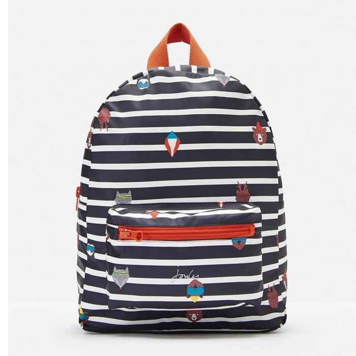 Adventure Printed Rubber Backpack - Joules - joannas-cuties