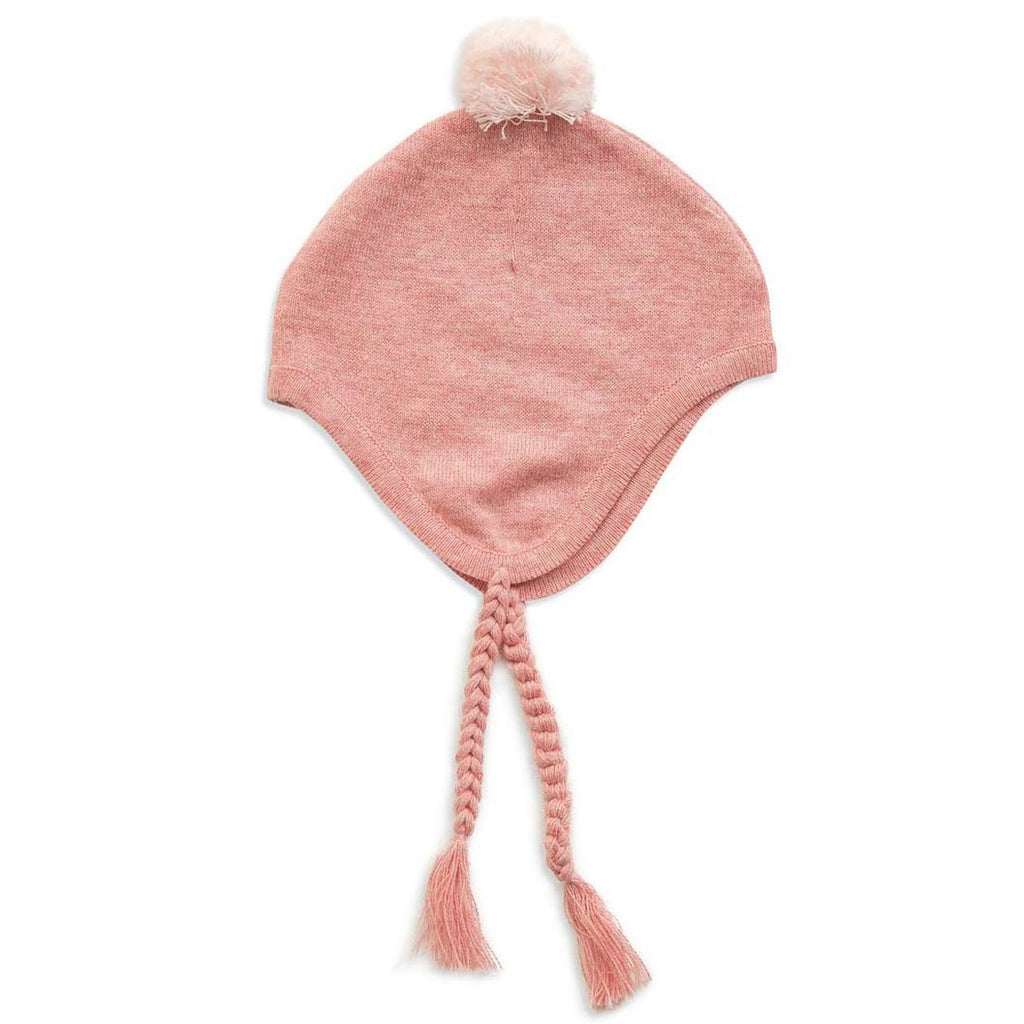 Alpaca Pilot Hat - Pink, Angel Dear - Joanna's Cuties