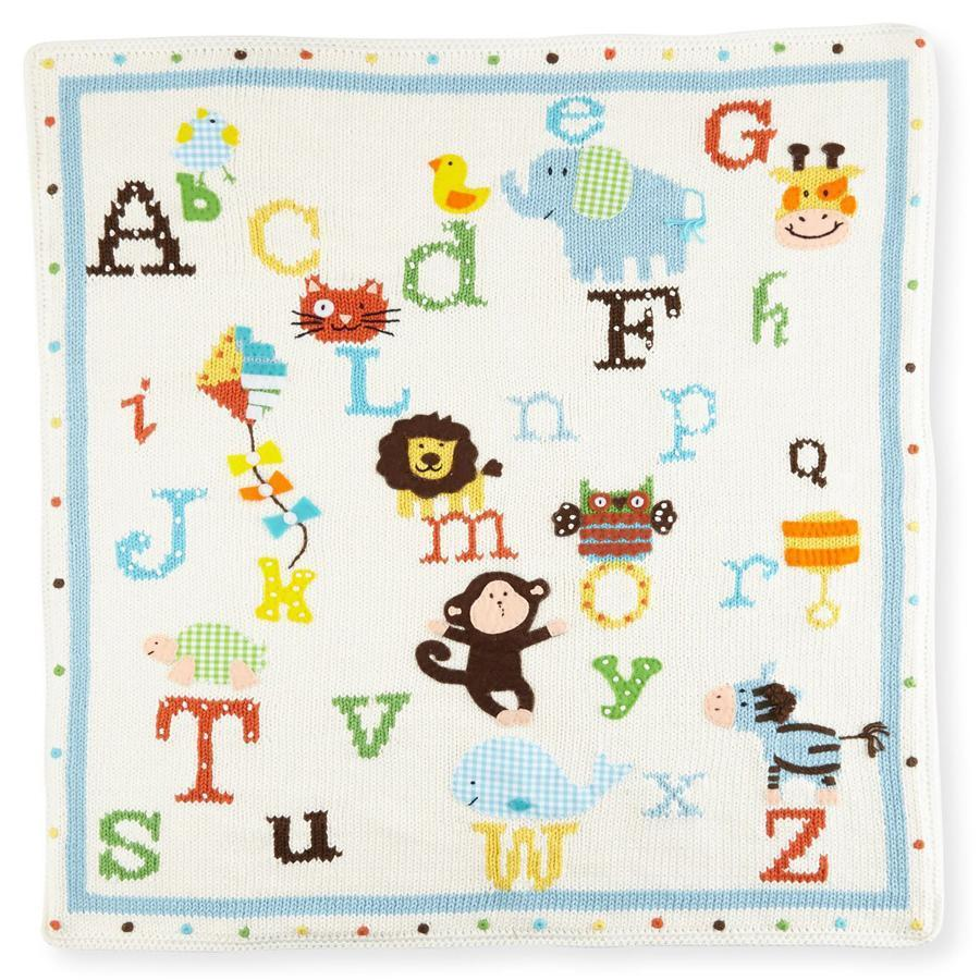 Alphabet Soup Knit Blanket, Artwalk - Joanna's Cuties