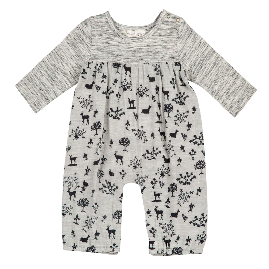 Animal Shadows Romper - Mimi & Maggie - joannas-cuties