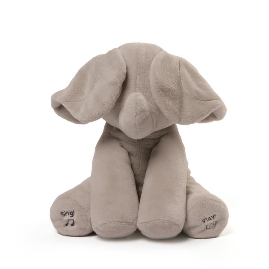 "Animated Flappy, 12"" Grey, Gund - Joanna's Cuties"