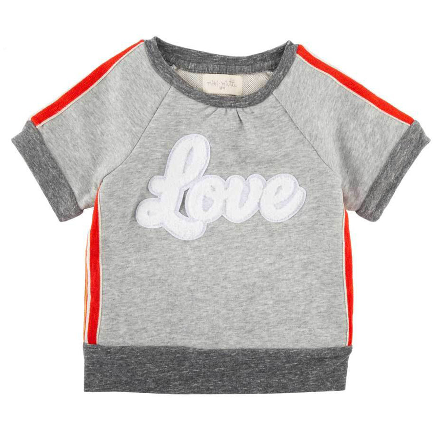 Anni Short Sleeve Pullover Retro Love