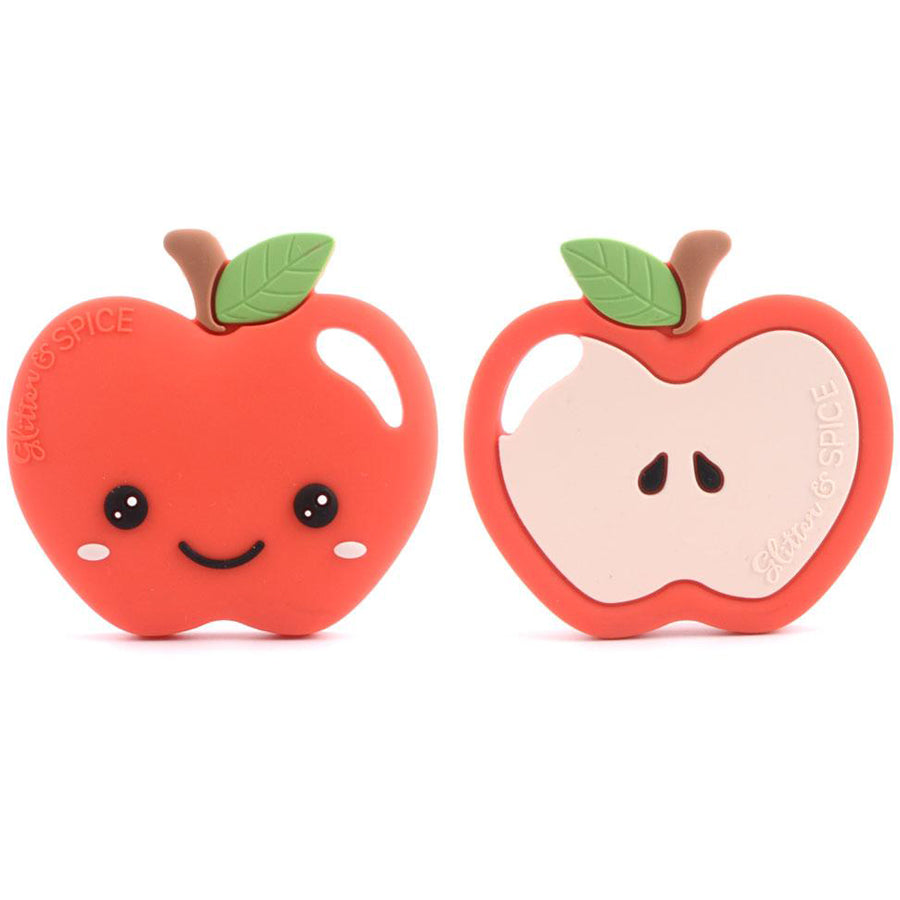Apple Teether-Glitter & Spice-Joanna's Cuties