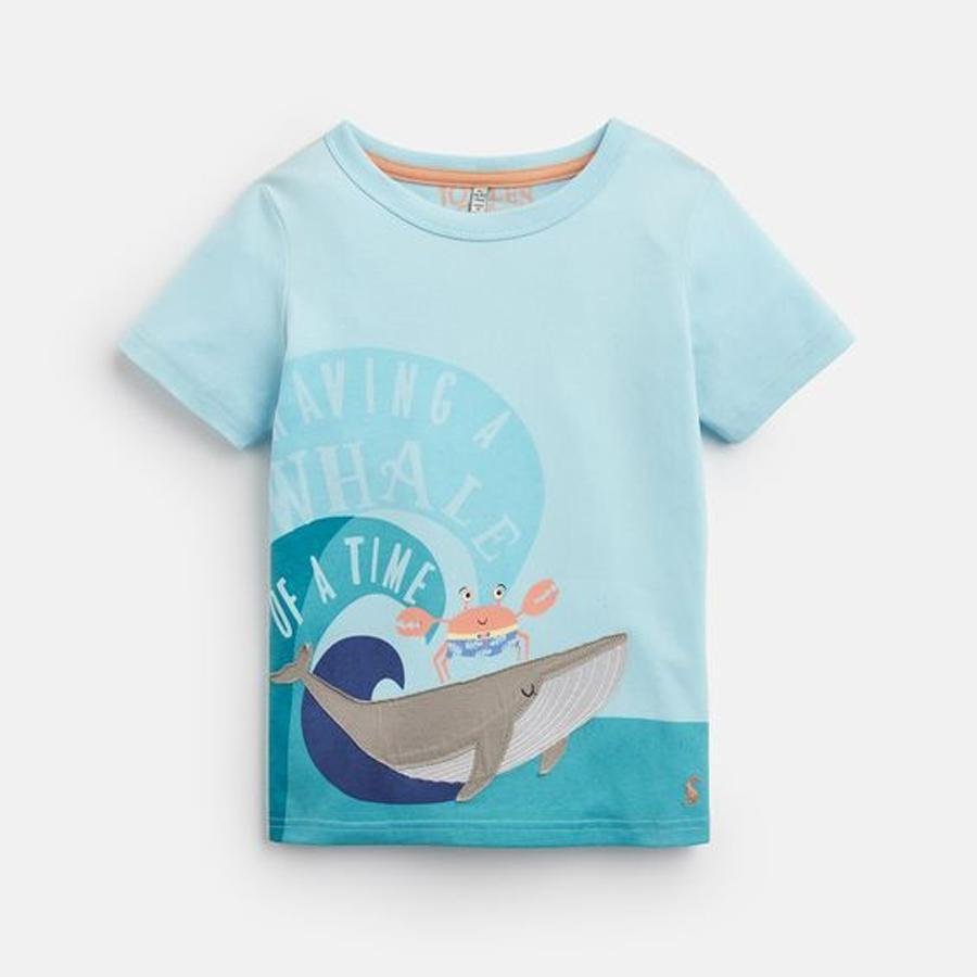 Applique T-Shirt - Joules - joannas-cuties