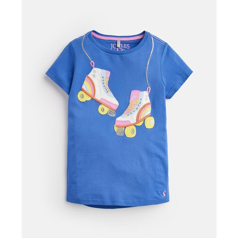 Astra Jersey Applique Top - Joules - joannas-cuties