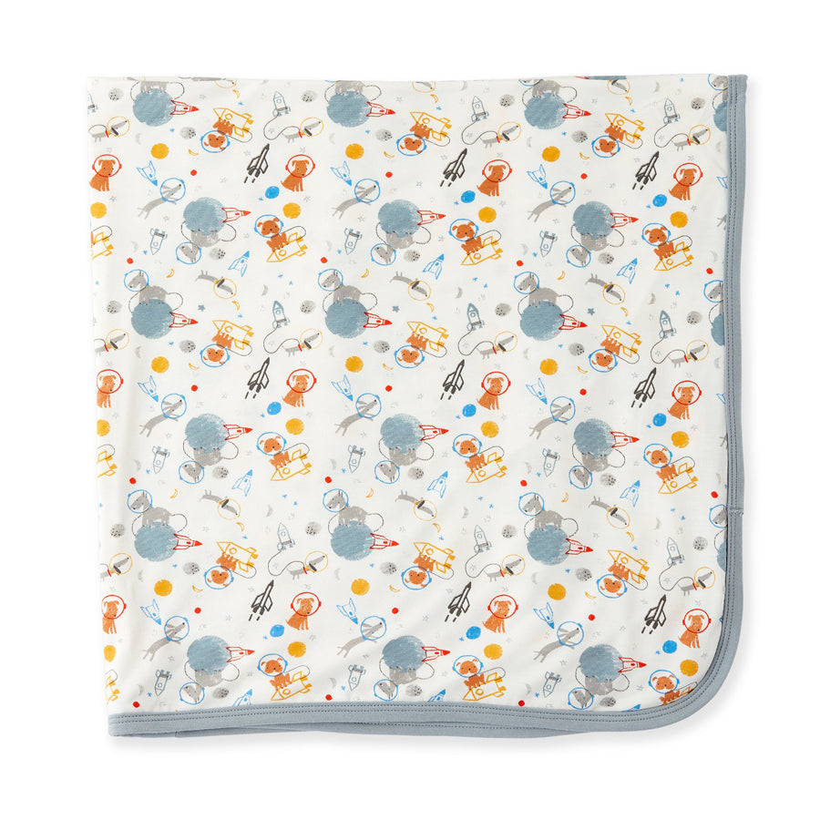Astro Pups Modal Swaddle Blanket