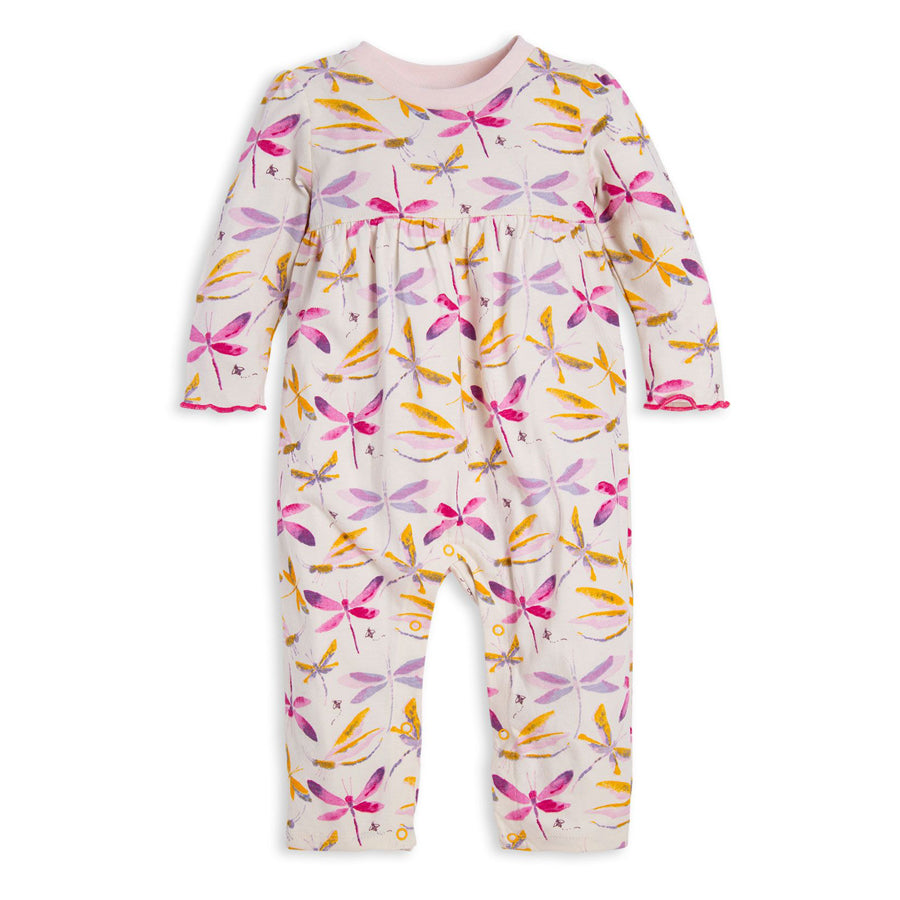 Sky Dragonfly Organic Baby Jumpsuit, Burt's Bees Baby - Joanna's Cuties