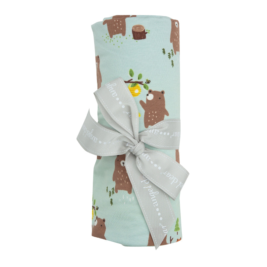 Baby Bears Swaddle Blanket-Angel Dear-Joanna's Cuties