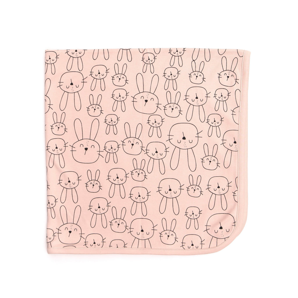 Baby Blanket - Dusty Rose - Tun Tun - joannas-cuties