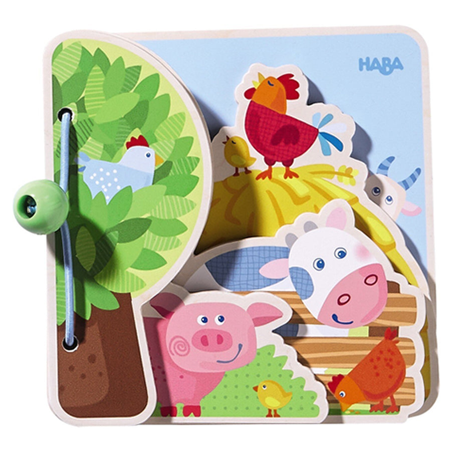 Baby Book Farm Friends - Haba - joannas-cuties