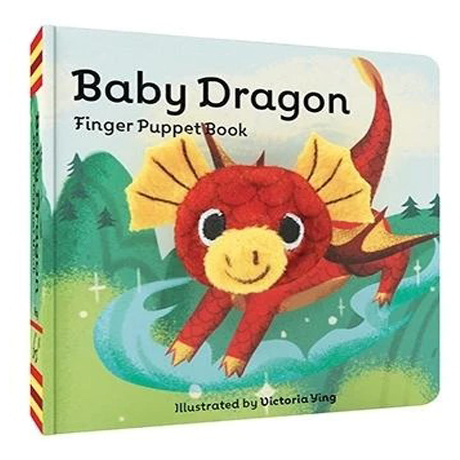 Baby Dragon - Finger Puppet Book-Chronicle Books-Joanna's Cuties