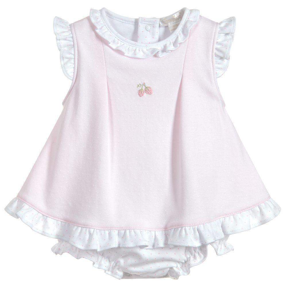 Baby Girls Pima Cotton Shortie - Kissy Kissy - joannas-cuties