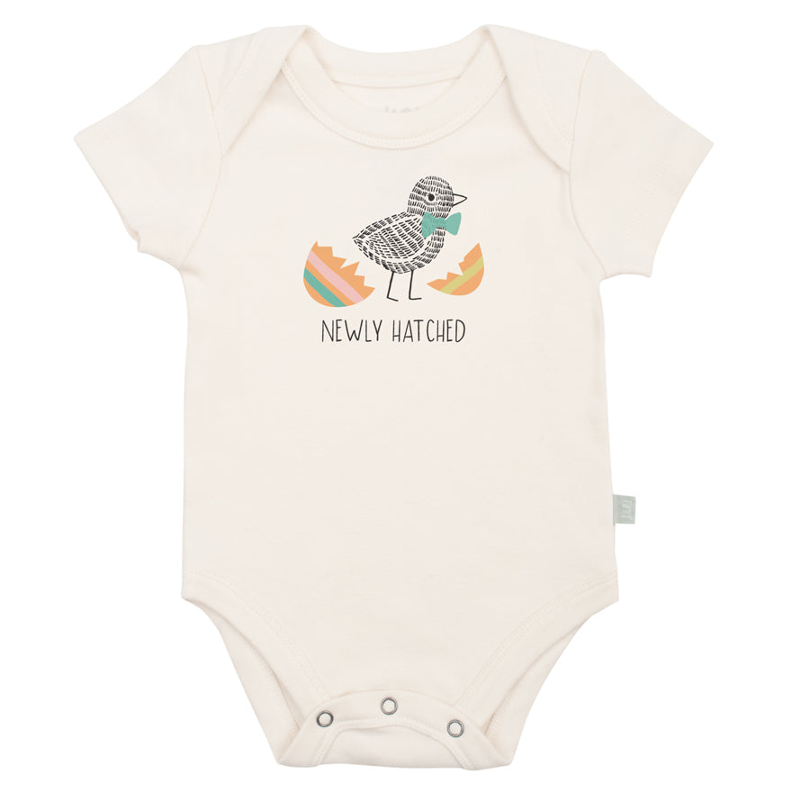 Graphic Bodysuit - Newly Hatched-Finn + Emma-Joanna's Cuties