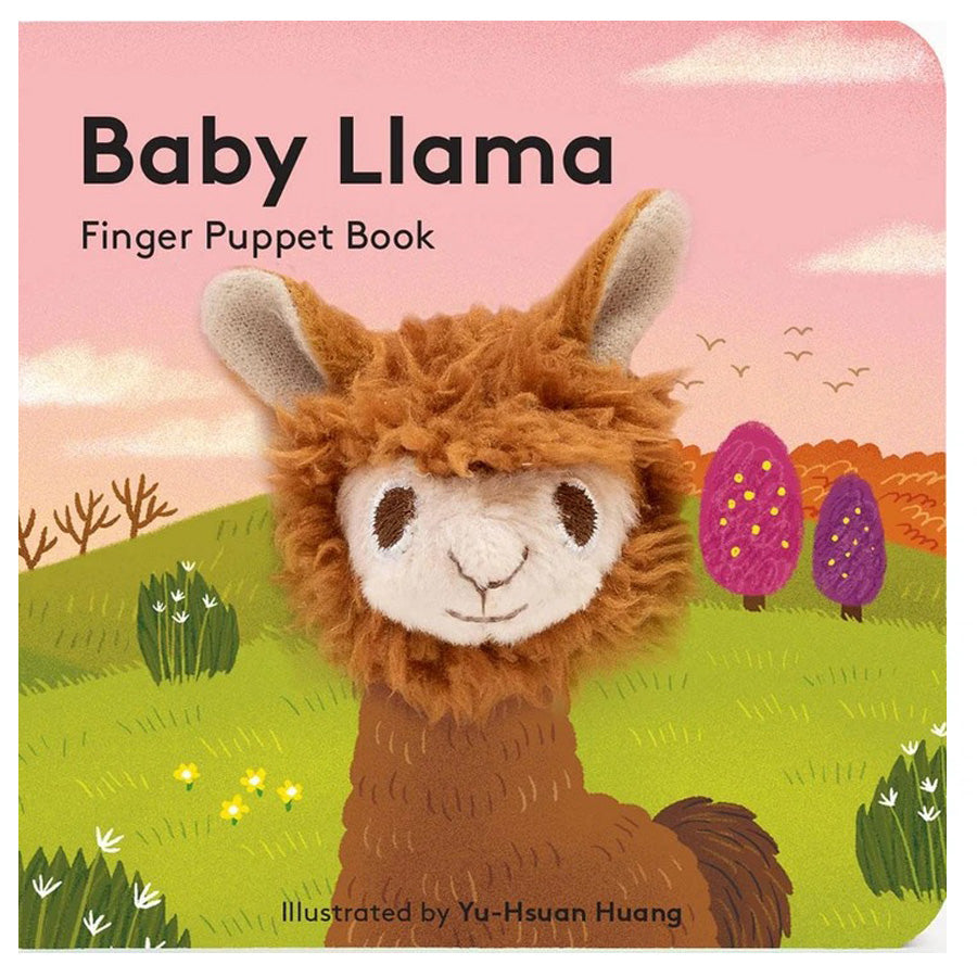 Baby Llama - Finger Puppet Book-Chronicle Books-Joanna's Cuties