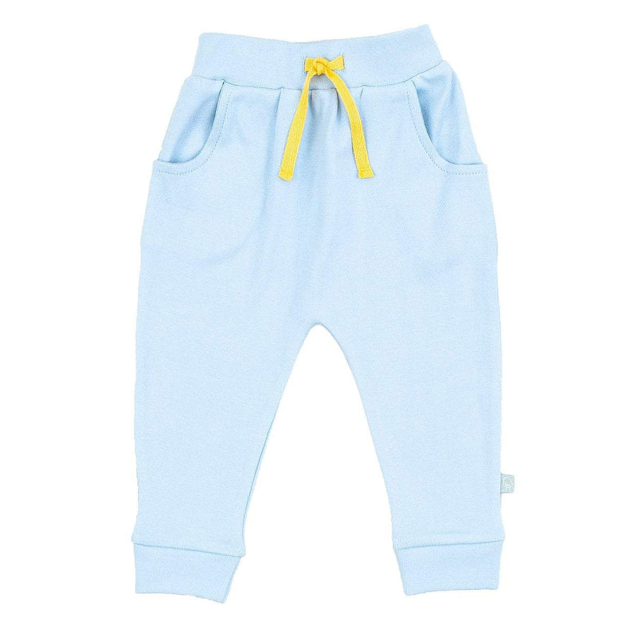 Baby Lounge Pants - Blue-Finn + Emma-Joanna's Cuties