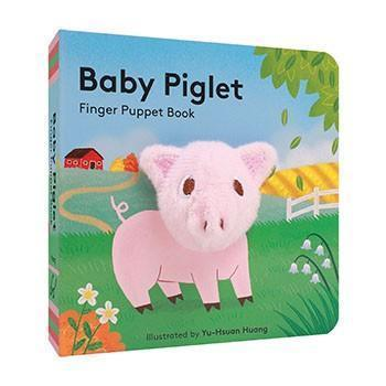 Baby Piglet: Finger Puppet Book - Chronicle Books - joannas-cuties