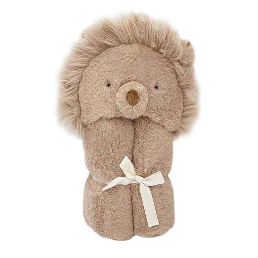 'Luca' Plush Lion Hooded Blanket-Mon Ami-Joanna's Cuties