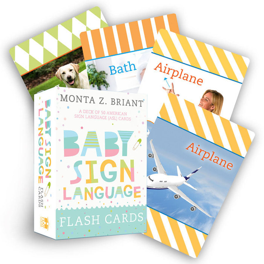 Baby Sign Language Flash Cards-Penquin Random House-Joanna's Cuties