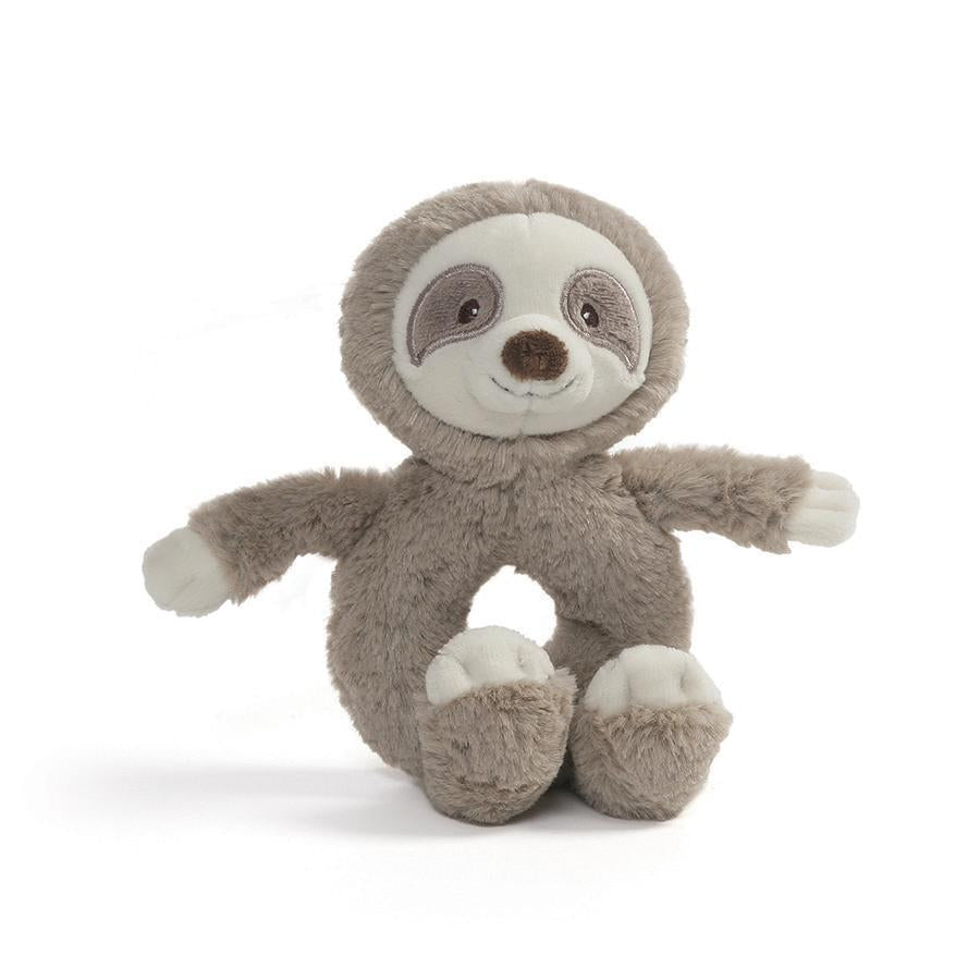 Baby Toothpick Sloth Rattle - Gund - joannas-cuties