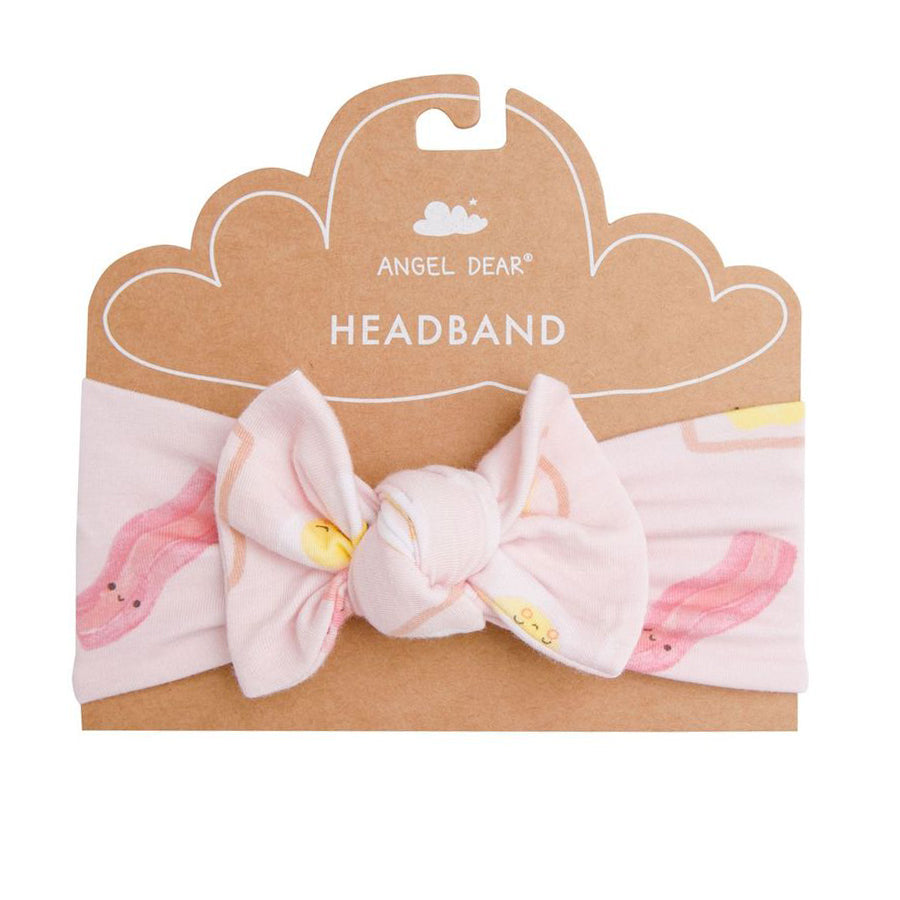 Bacon And Eggs Headband - Pink