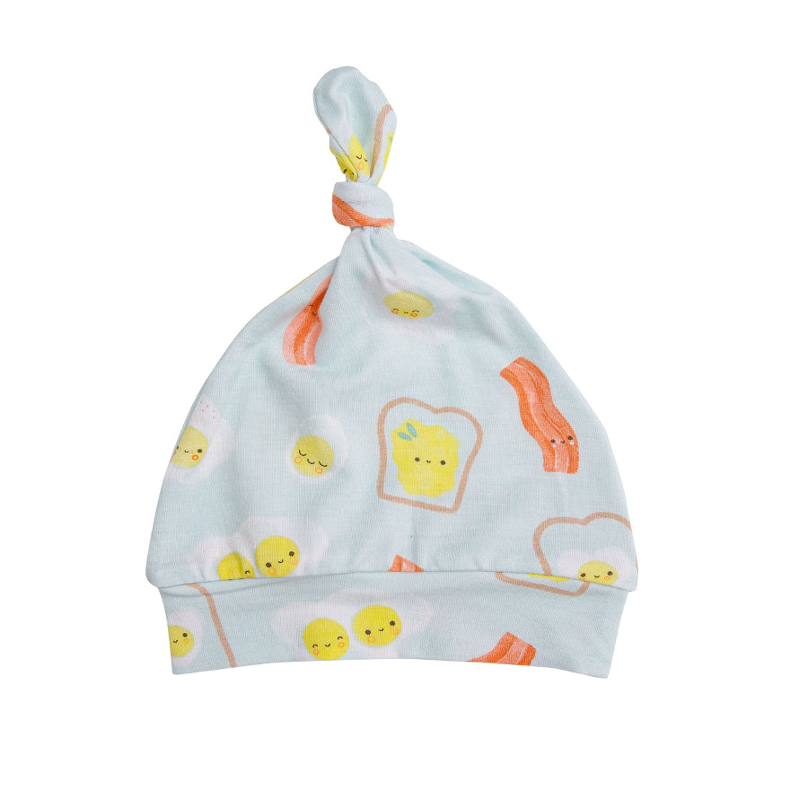 Bacon And Eggs Knotted Hat-Angel Dear-Joanna's Cuties