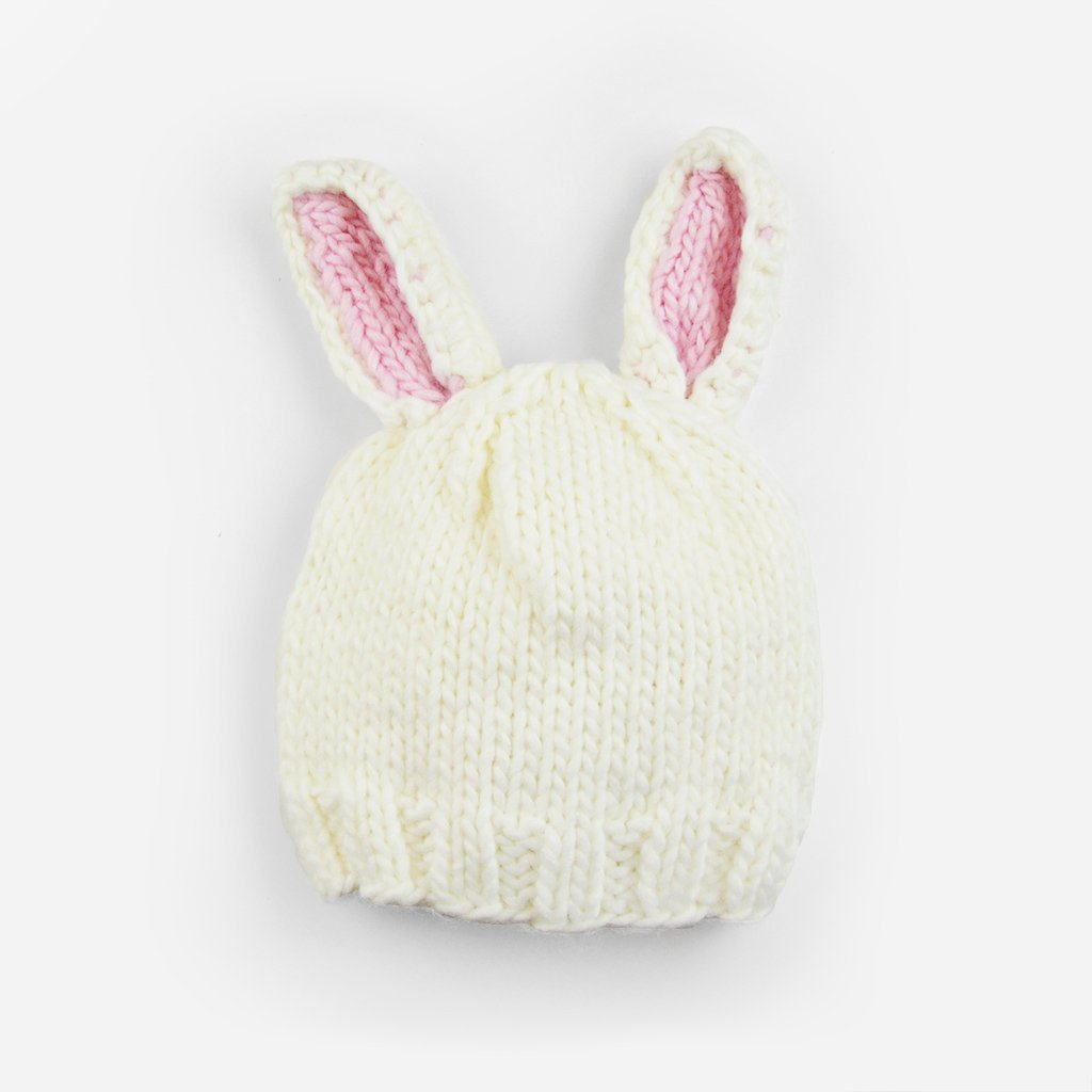 Bailey Bunny Knit Hat - The Blueberry Hill - joannas-cuties