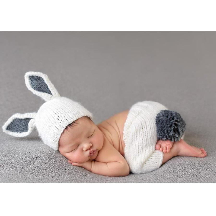 Bailey Bunny Knit Newborn Set - The Blueberry Hill - joannas-cuties