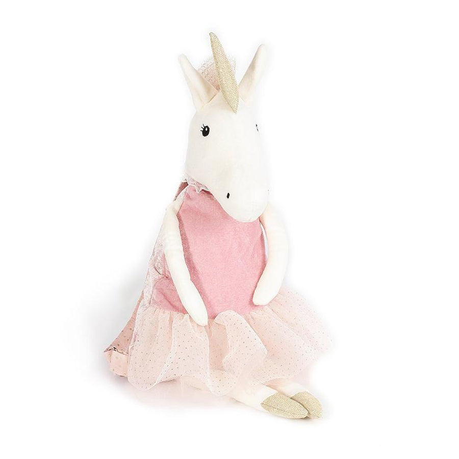Ballerina Unicorn Stuffed Animal Backpack-Mon Ami-Joanna's Cuties