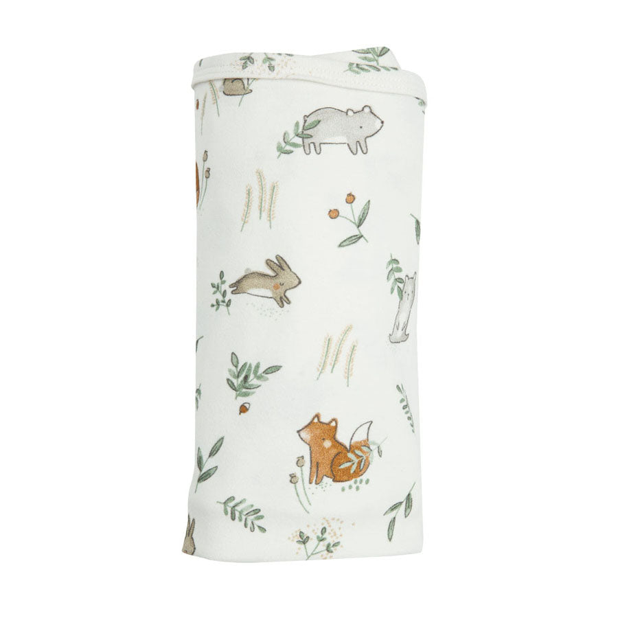 Bamboo Swaddle - Delicate Woodland-Angel Dear-Joanna's Cuties