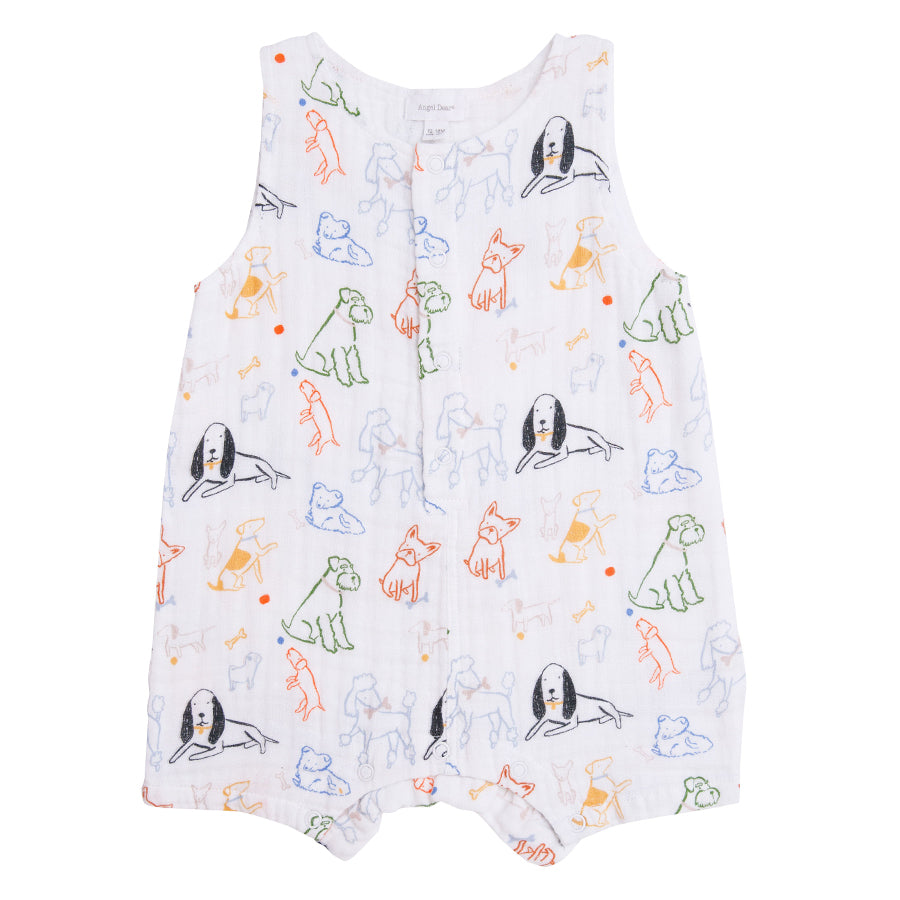 Bark Life Shortie Romper