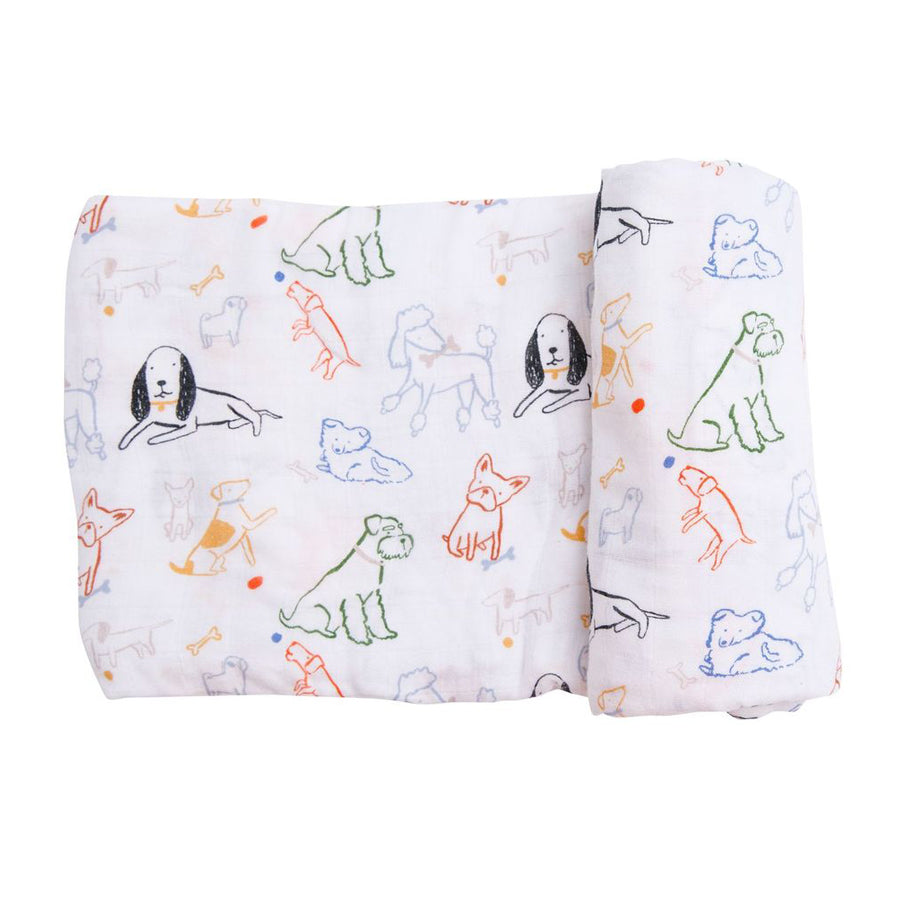 Bark Life Swaddle Blanket