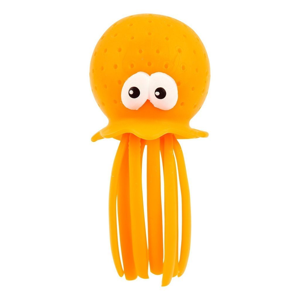 Bath Squirter | Neon Orange Octopus, Sunnylife - Joanna's Cuties