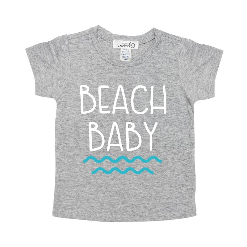 Beach Baby - Boys Top, Sweet Wink - Joanna's Cuties