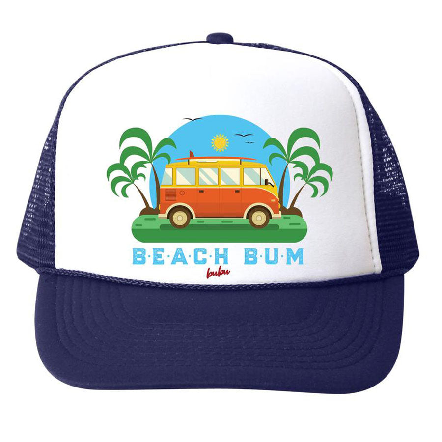Beach Bum Hat - Navy, Bubu - Joanna's Cuties