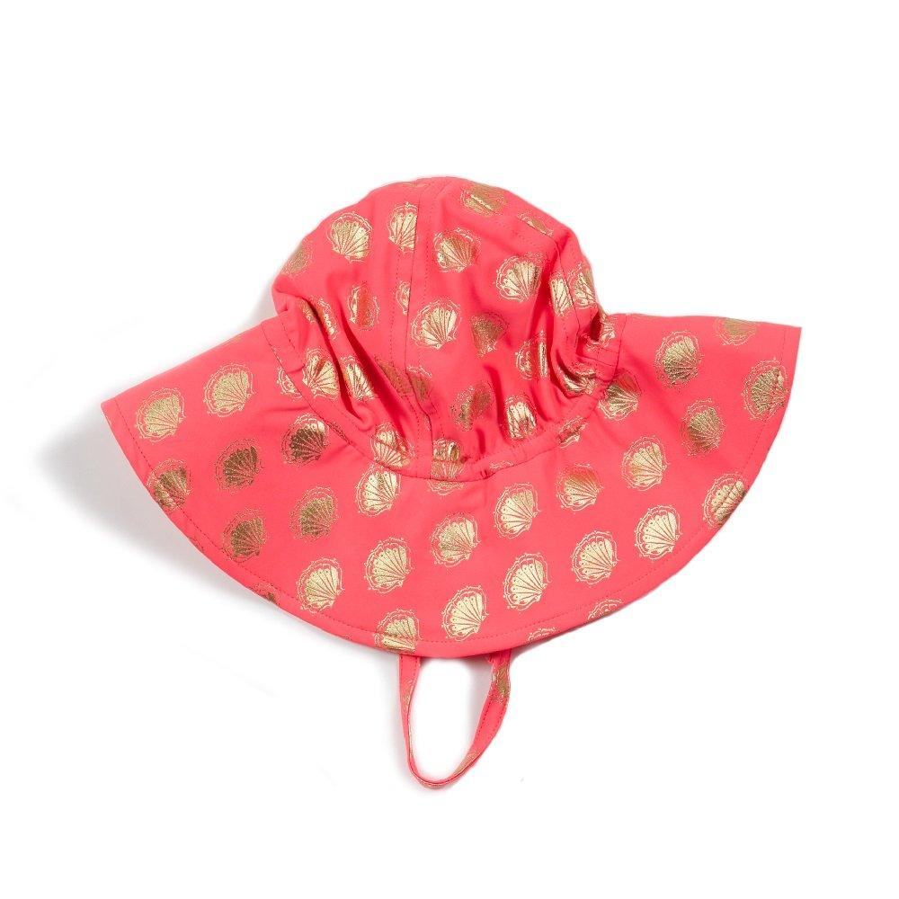 Beach Hat In Coral, EGG by Susan Lazar - Joanna's Cuties