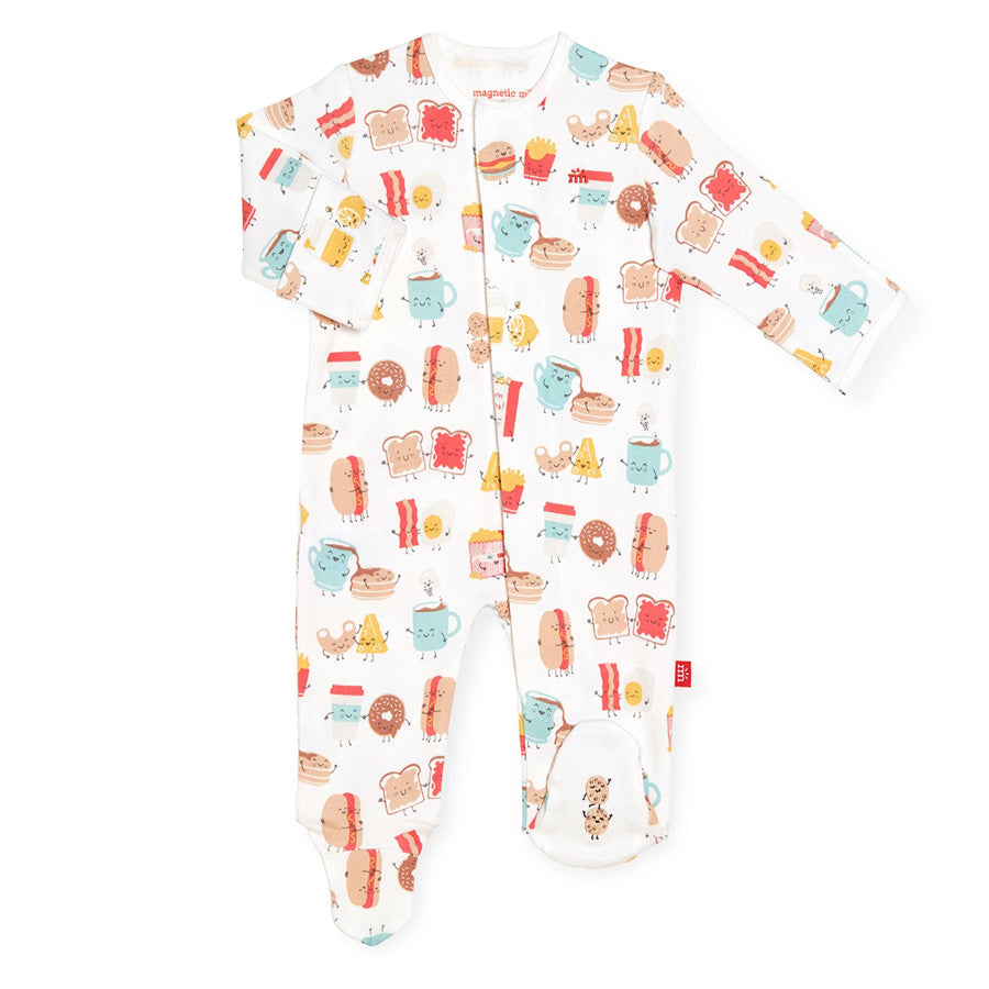 Better Together Organic Cotton Magnetic Footie-Magnetic Me-Joanna's Cuties