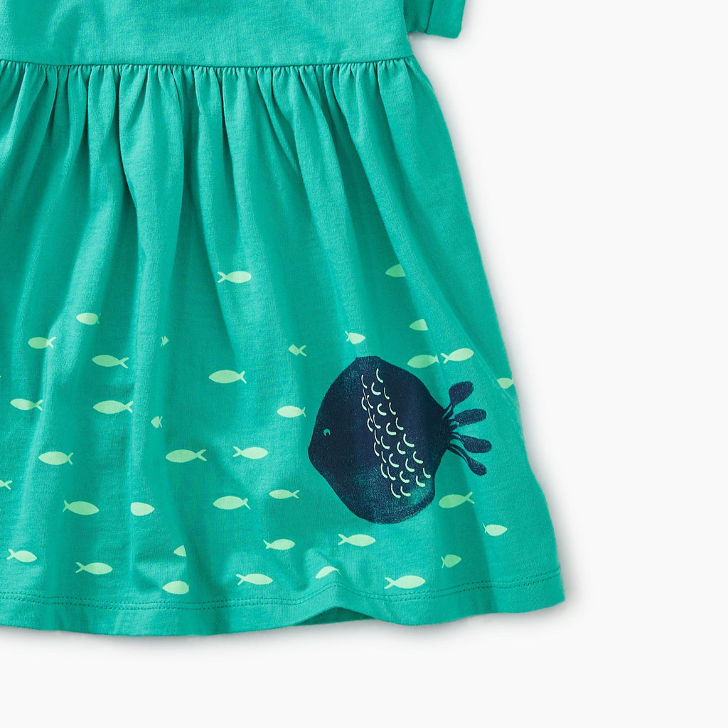Big Fish Empire Baby Dress - Tea - joannas-cuties