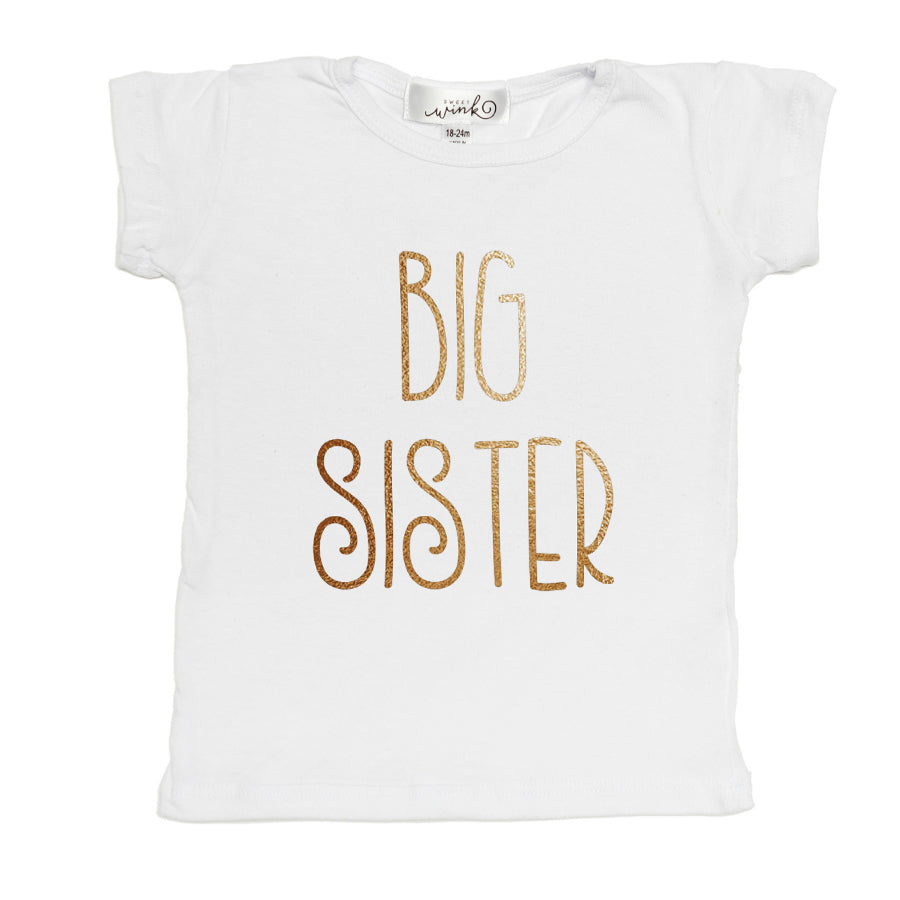 Big Sister Shirt-Sweet Wink-Joanna's Cuties