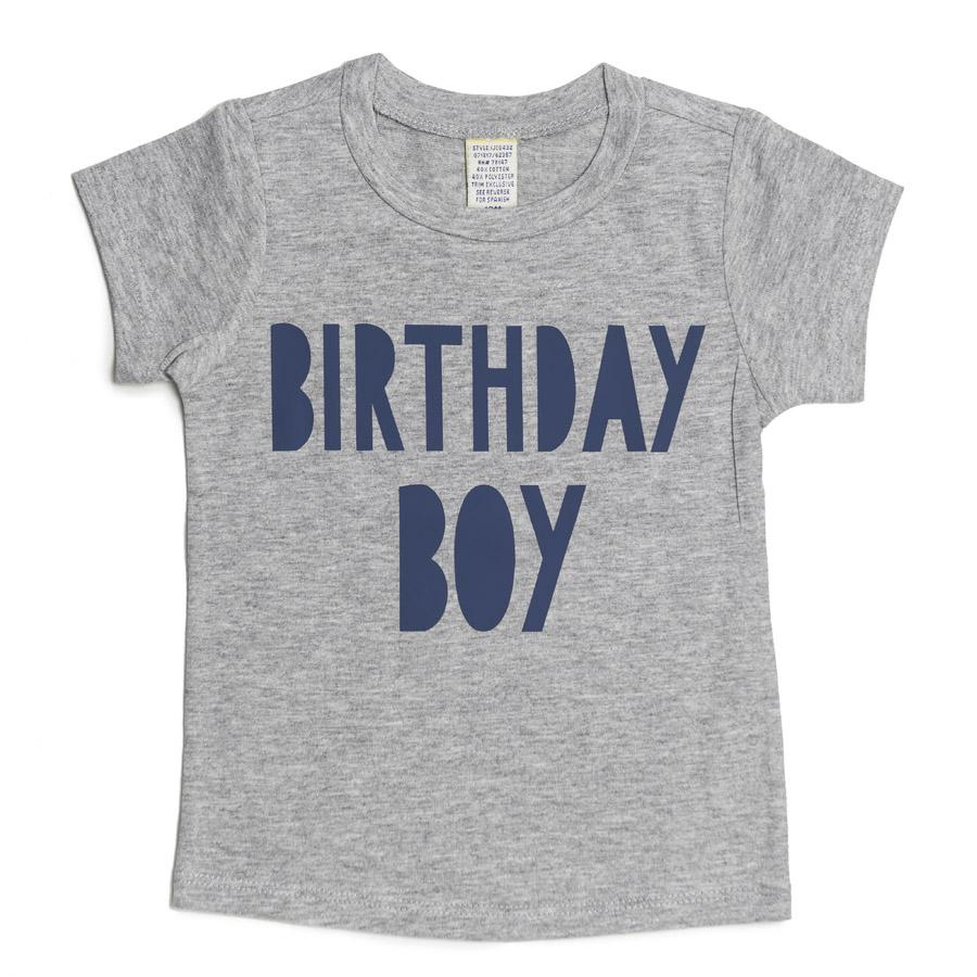 Birthday Boy Short Sleeve T-Shirt - Sweet Wink - joannas-cuties