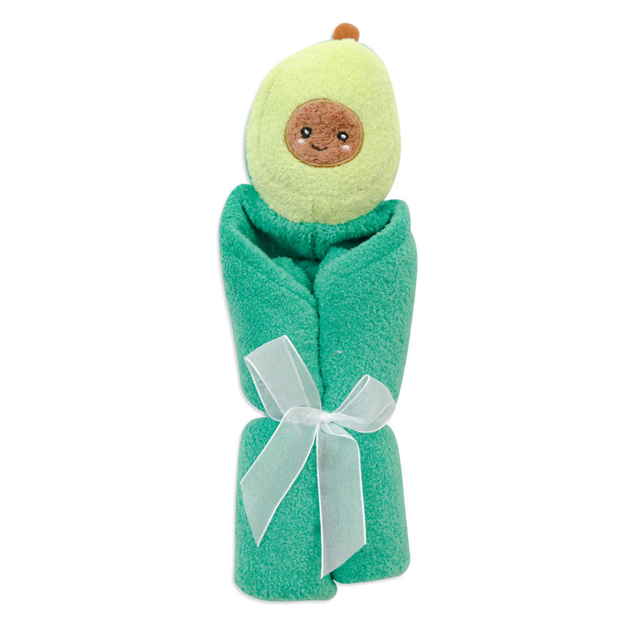Avocado - Blankie - Angel Dear - joannas-cuties