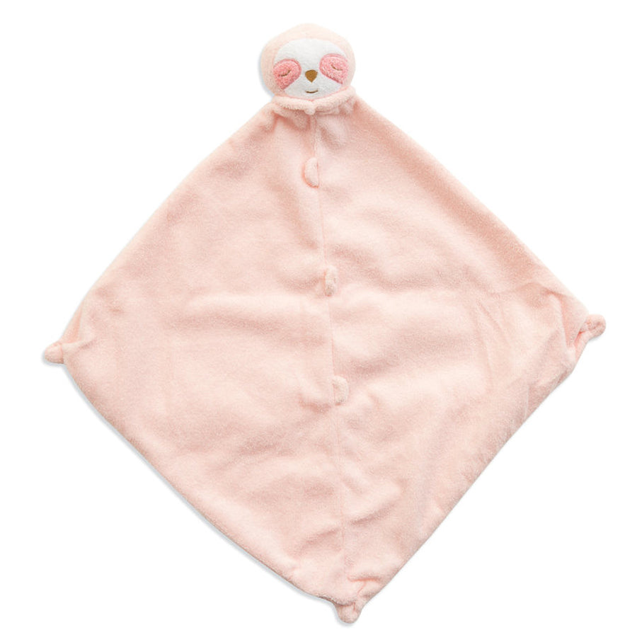 Pink Sloth - Blankie - Angel Dear - joannas-cuties