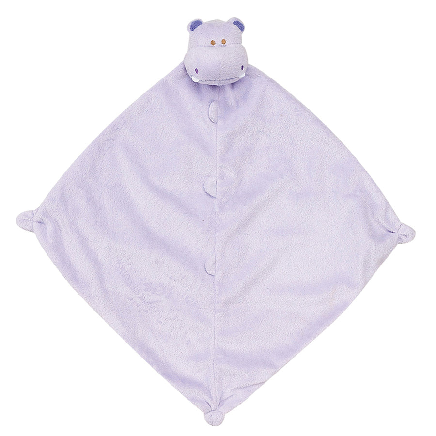 Purple Hippo - Blankie - Angel Dear - joannas-cuties