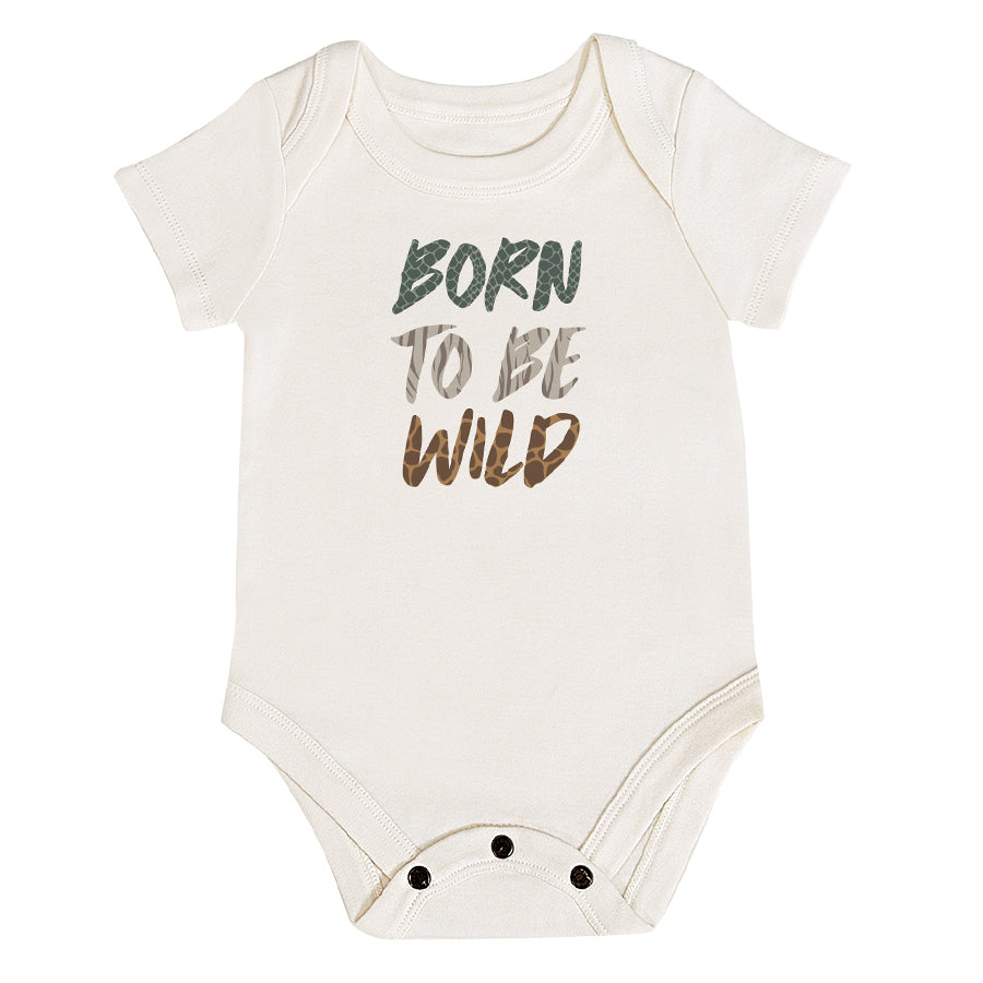 Graphic Bodysuit - Born To Be Wild-Finn + Emma-Joanna's Cuties
