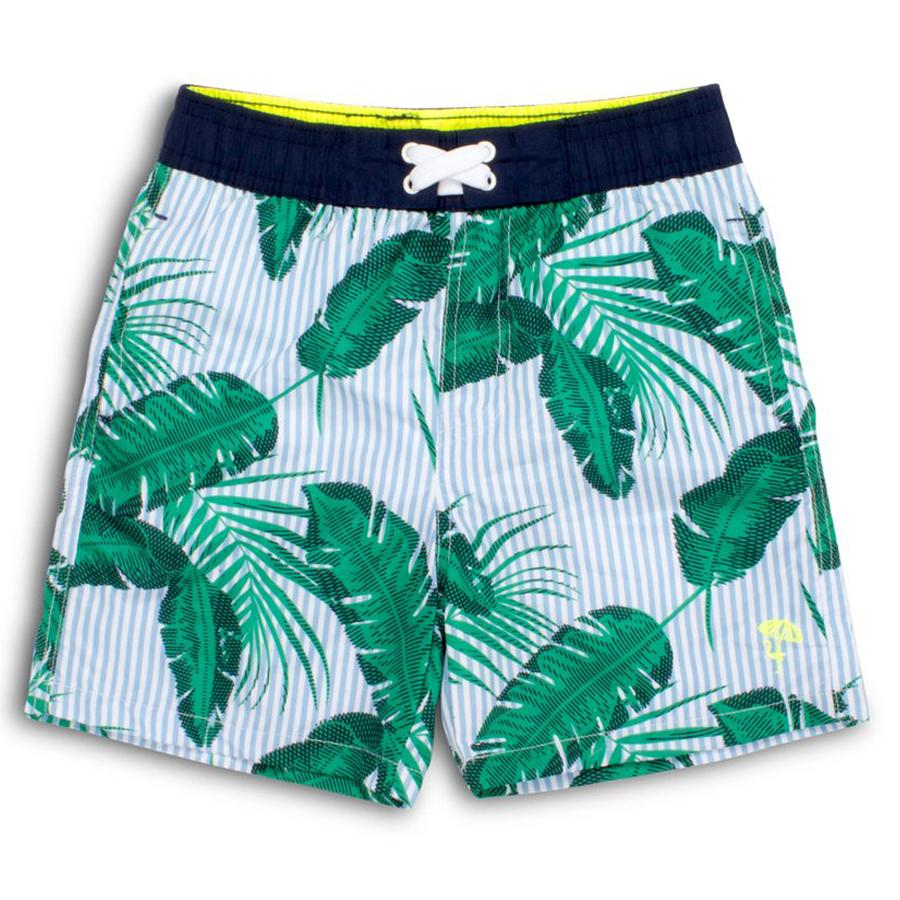 Boy Trunks- Botanical Blue, Shade Critters - Joanna's Cuties