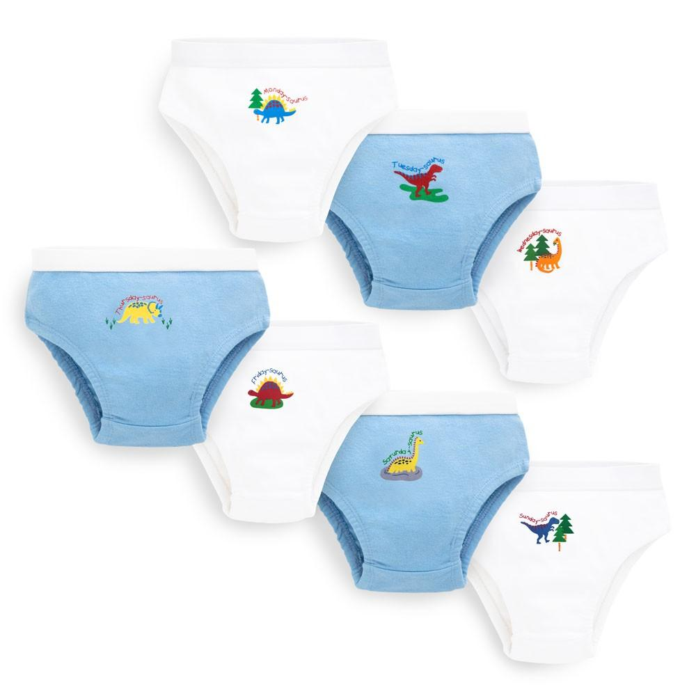 Boys' Dinosaur 7-Days Briefs Set - JoJo Maman Bebe - joannas-cuties