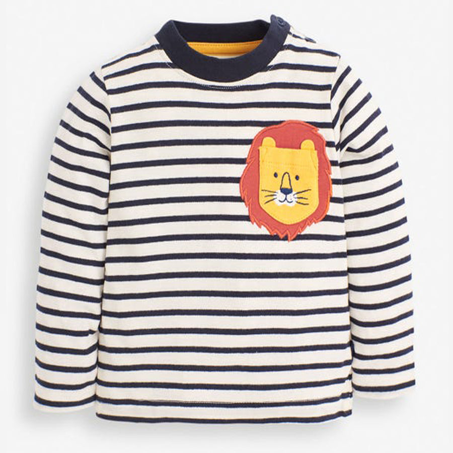 Lion Pocket Top-JoJo Maman Bebe-Joanna's Cuties
