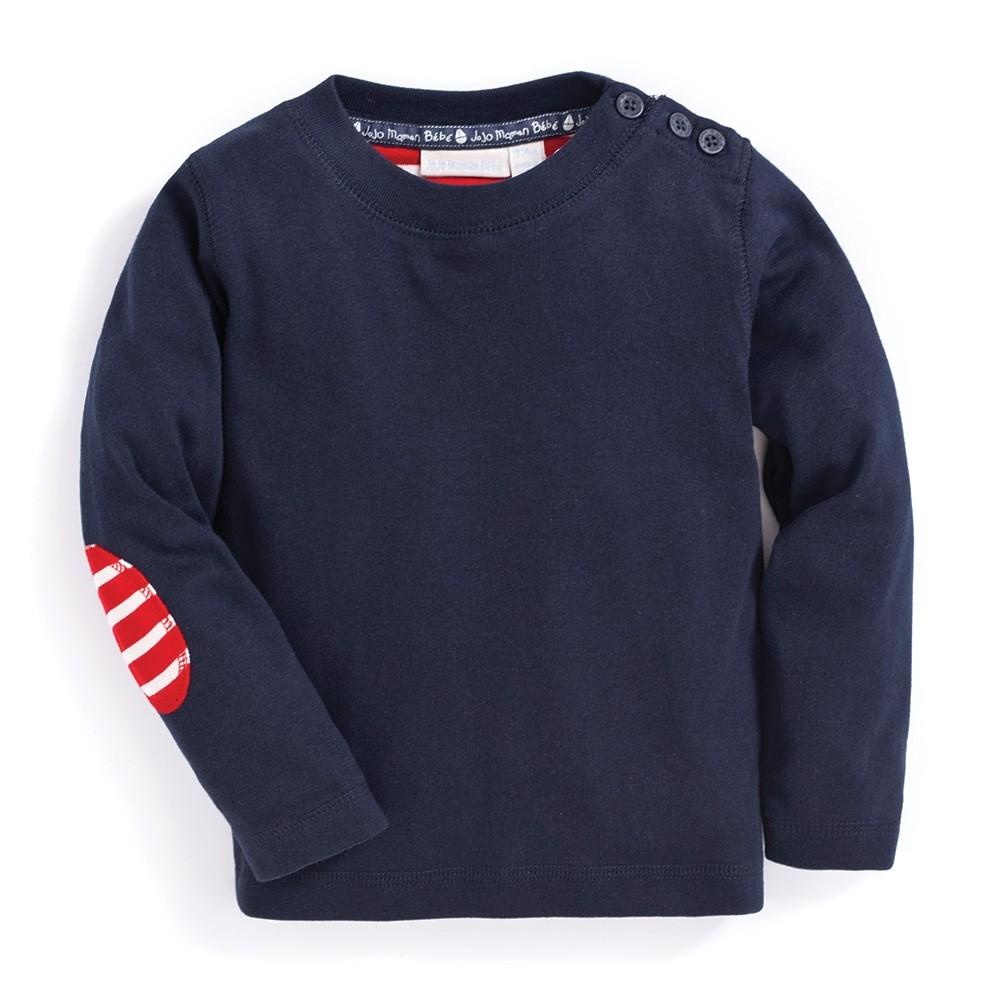 Boys' Long Sleeve Top - JoJo Maman Bebe - joannas-cuties
